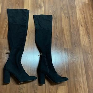 New! G by Guess pointed-toe over knee boots